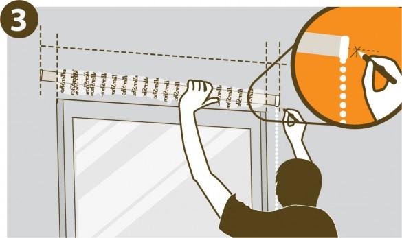 C mo colocar una cortina roller tutorial colocaci n rollershow - Soportes para cortinas ...