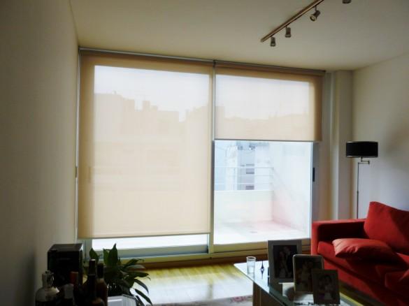 Ejemplo de cortina en sun screen rollershow - Cortinas de screen ...
