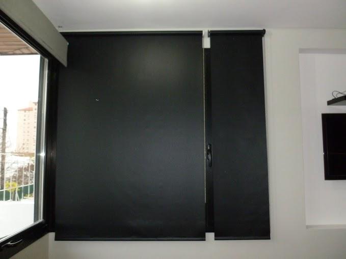 Trabajos en cortinas roller black out para opacidad - Cortinas screen opiniones ...